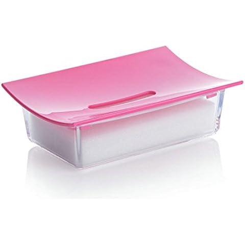 Spugna acqua box/ sapone in plastica box/Soap