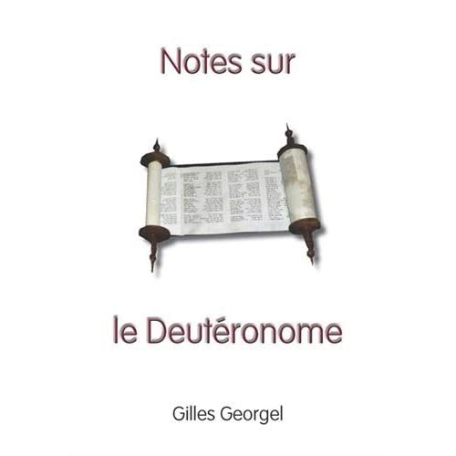 Notes sur le Deutéronome