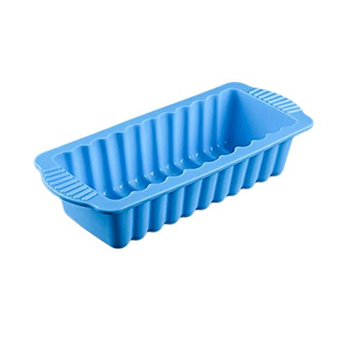 SULUO Silicone Rectangular Shape Toast Bread Cake Pan Mold Baking Tool for Brownie Chiffon Sponge Bakeware Accessories,A -