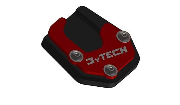 Compatibile Moto Guzzi V85TT MyTech Piastra allargamento Base cavalletto Rosso//Nero