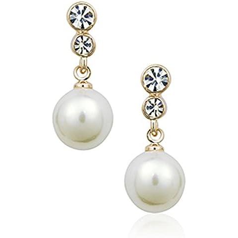ZWX Lady Crystal Orecchini di perle/Gioielli moda coreana orecchino