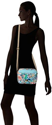 Oilily Damen S Shoulder Bag Umhängetasche, 7.5 x 16 x 22.5 cm Blau (Pool Blue)