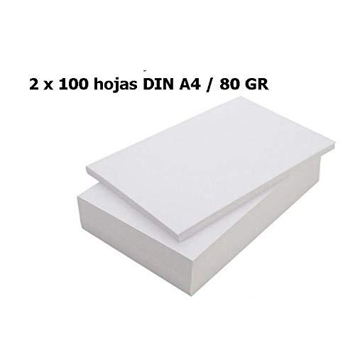 DIN A4, 80 g//m/² color blanco Papel universal OFFICE Partner 10.000 folios