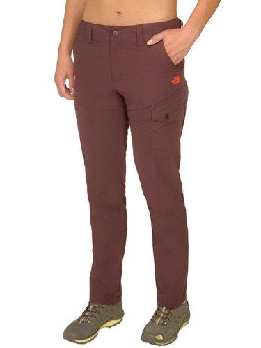 The North Face - Pantaloni corti Triberg, Marrone (Fudge Brown), Taglia 14