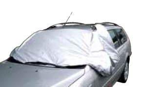 magnetische Scheibenabdeckung / Frostabdeckung / Abdeckung / Winterschutz für die Frontscheibe, 285 x 97 cm