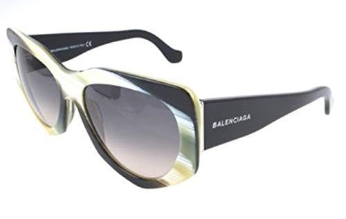 Balenciaga Damen Ba0018 64B-58-17-140 Sonnenbrille, Mehrfarbig, 58