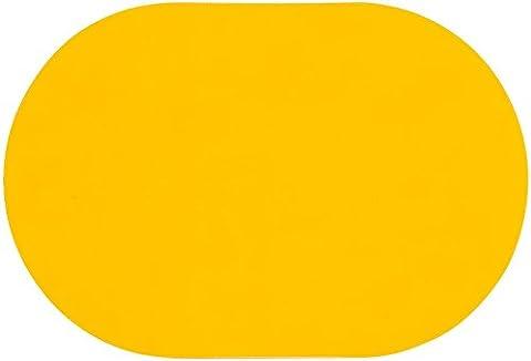 D-C-Fix® Set von 6Tischsets oval gelb