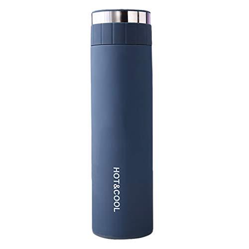 Grilsrylyna Tasse Mama,Flaschenbürste,Kreative Doppelte Vakuumflasche aus Edelstahl, 6.5x23.5cm-500ML Wand-Thermoskanne,Tasse für Vater,Tassen Set