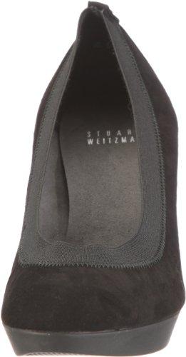 Stuart Weitzman Forsure 57 Damen Pumps Schwarz/Black Suede