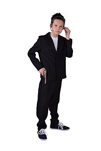 M207030-140 Kinder Junge Bodyguardkostüm Bodyguardanzug (Kostüme Jungen Für Spion)