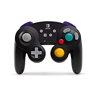 Wireless Controller for Nintendo Switch - GameCube Style: Black (Nintendo Switch)