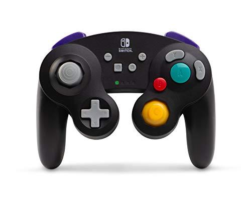 Manette sans fil de Nintendo Switch - Style GameCube Noir