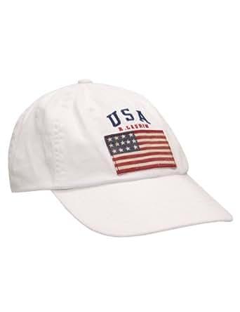 Ralph Lauren - Casquette U.S.A. - blanc - homme