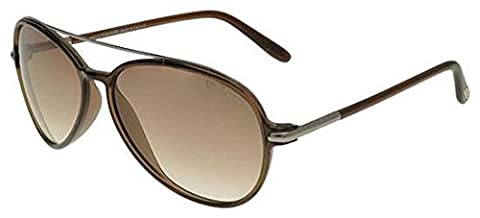 Tom Ford 0149 Ramone Silver / Brown Frame/Brown Gradient Lens