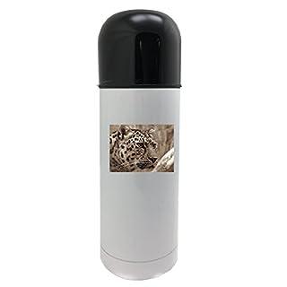 Amur, Leopard, Sepia, Close, Cat'S Eyes 350ml white thermos