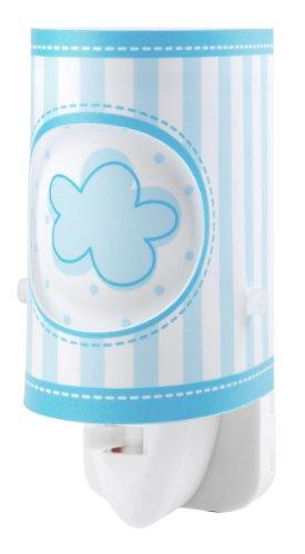 Dalber 63222L - Luz Nocturna Led para Habitación Infantil, diseño de Nube Azul
