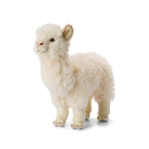 Wwf Plüschtier Alpaka Lama weiß - 31 cm
