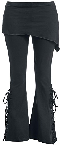 Gothicana by EMP Bootcut Leggings Leggings nero XS