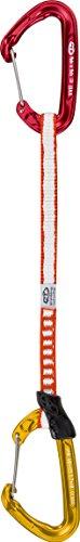 Climbing Technology Fly-Weight Evo, Verschiebung in Dyneema Unisex Erwachsene 17 cm Rot/Gelb