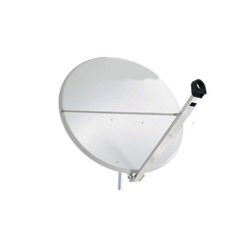 Antenne PremiumX 120cm Alu in Hellgrau SAT Spiegel Schüssel Aluminium NEU