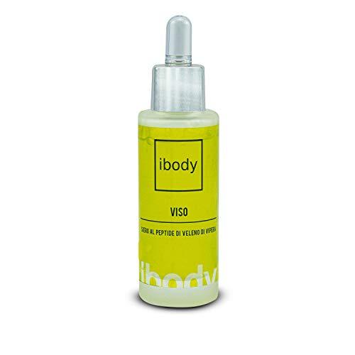 Ibody Siero di vipera puro 30 ml, siero effetto lifting immediato effetto botox. Antirughe, antiaging zampe di gallina, borse e occhiaie. Per viso, corpo e decollete. Per uomo e donna.