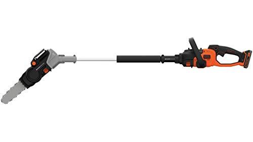 Black + Decker BCASK615D-QW - Motosierra inalámbrica 25 cm, 18 V, 2,5 Ah, 2,9 m/s, 1 batería, cargador...