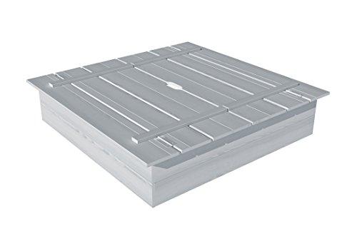 New Plast sb1632–Sandkasten aus Holz Arena