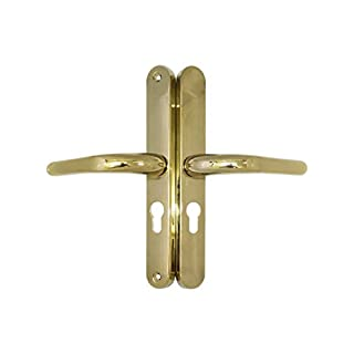 ABT Gibbons Gold Door Handle 48mm PZ ABT Lock Match St Helens
