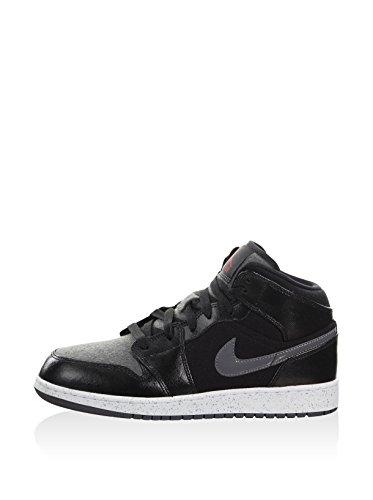Nike Jungen 852548-002 Turnschuhe Schwarz/Grau