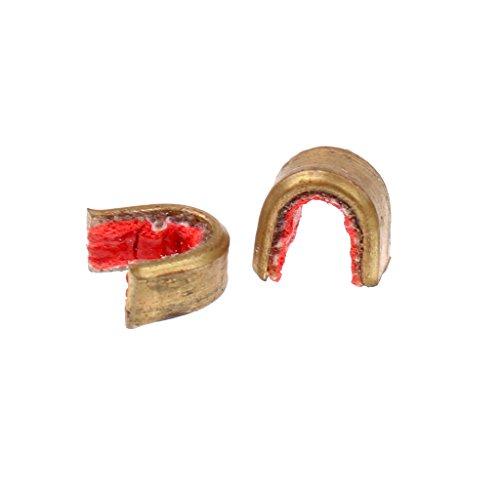 2X Archery Bow String Buckle Clip Nock Set Brass Nocking Point w//