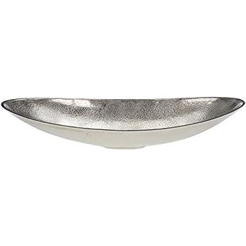 Amazon.de: HKT Home Deco Schale oval auf Fuß Tischdeko