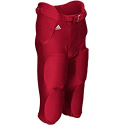 Adidas Climalite Mens Audible Padded Football Pant S Power Red