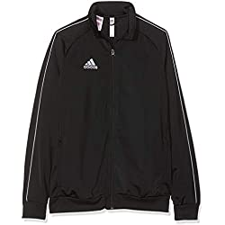 Adidas Core18 PES Sudadera Con Cremallera Unisex Para Niños Color Negro