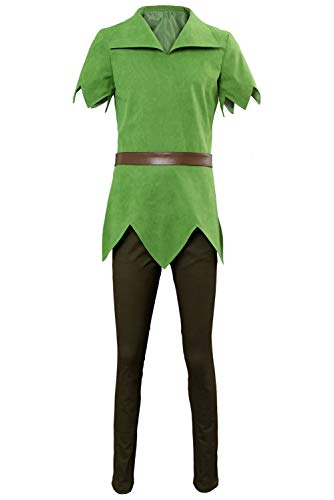 Kostüm Bilder Pan Peter - MingoTor Erwachsener Peter Schwenken Pan Cosplay Kostüm Herren L