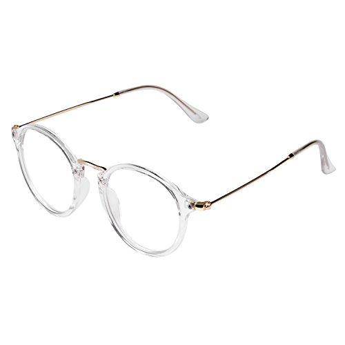 Forepin Dame Mädchen klare Linse Brille Augen Durchsichtig Gläser Wechselgläser Sonnenbrille...