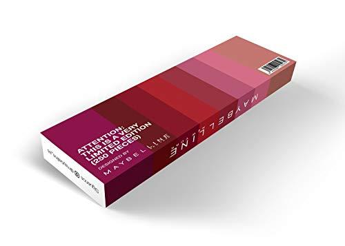 Maybelline New York Cofre Edición Limitada 8 Pintalabios SuperStay Matte Ink