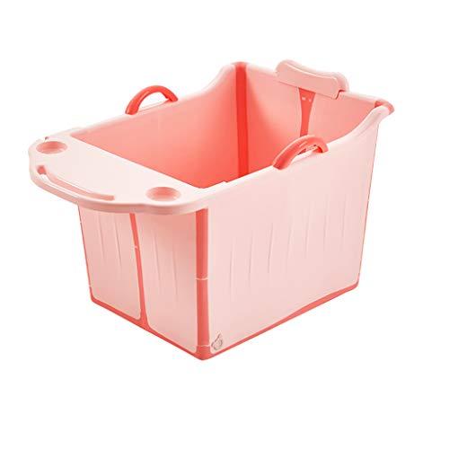 Faltbare Badewanne, tragbare Badewanne, Kinder Faltbare Badewanne Erwachsene Badewanne Faltbare große Badewanne Baby Pool Erwachsene Badewanne Haus mit Tablett