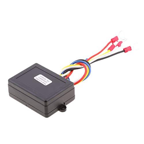 Chianrliu 98ft 24V Car ATV SUV Wireless Winch Remote Control Kit Switch LED indicator KLS-208/4