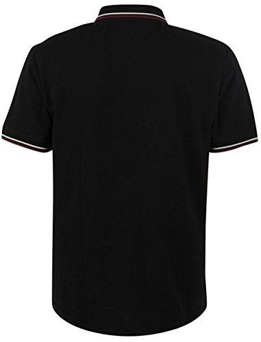 Firetrap Herren Poloshirt Mehrfarbig Mehrfarbig Mehrfarbig - Schwarz