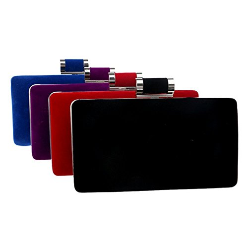 Eysee, Signore Clutch Rosso Viola 18cm * 12cm * 4,5cm Rosso