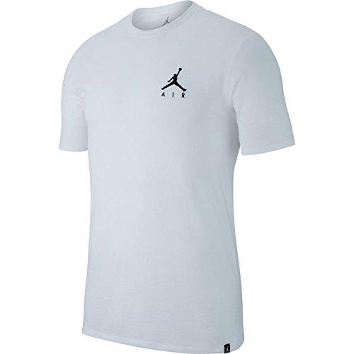 Nike Herren M JSW Tee JMPMN AIR EMBRD T-Shirt, weiß, S - Jordan Herren Air