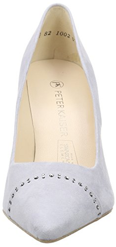 Peter Kaiser Doro, Chaussures à talons - Avant du pieds couvert femme Bleu - Blau (ICE SUEDE SILBER  SWAROVSKI 460)