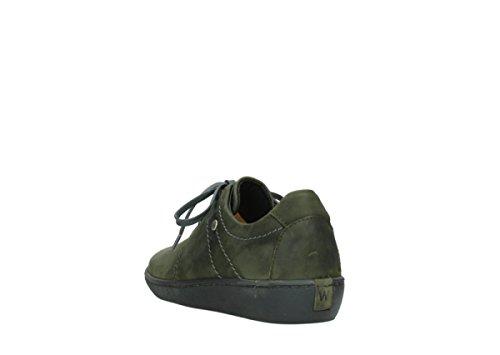 Wolky Comfort Chaussures à lacets Artemis 50730 cuir vert