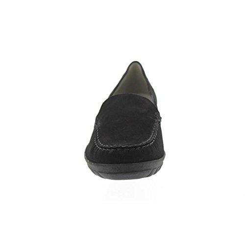 Waldläufer Hanami, Slipper, Nubuk-Soft, schwarz 387550-162-001 Schwarz