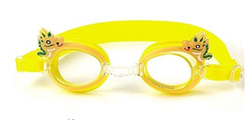 Schwimmen Schutzbrillen, Embryform Clear Schwimmen Schutzbrillen Keine Leaking Anti Fog UV Schutz Triathlon Schwimmbrille mit freiem Schutz Fall für Erwachsene Männer Frauen Jugend Kinder Kind, YG6F5