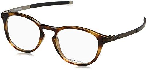 Ray-Ban Herren 0OX8105 Brillengestelle, Schwarz (Brown Tortoise), 50