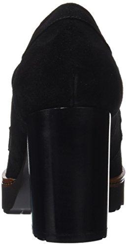 Gadea Escarpins Noir Fermé Silk Black Bout Femme 5rqZ5Pw