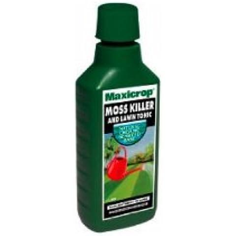 MOSS KILLER E PRATO TONIC USATO DAI PROFESSIONISTI MAXICROP 500 ML - Moss Killer