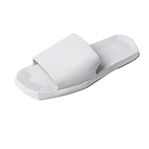 Oyedens MäNner Innen Und AußEn Weiche Boden Bad Hausschuhe Sandalen Weiß