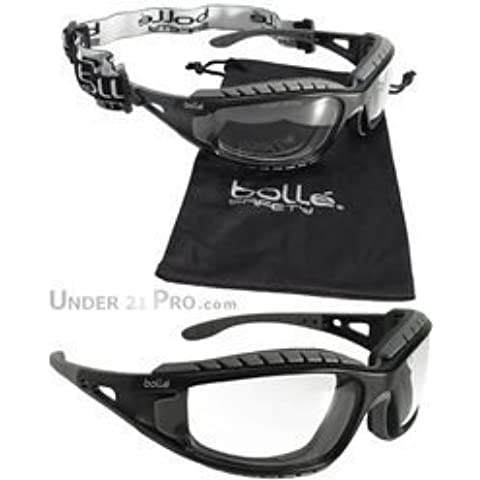 Bolle TRACPSI Tracker Safety Goggles - Vented Clear by Bolle